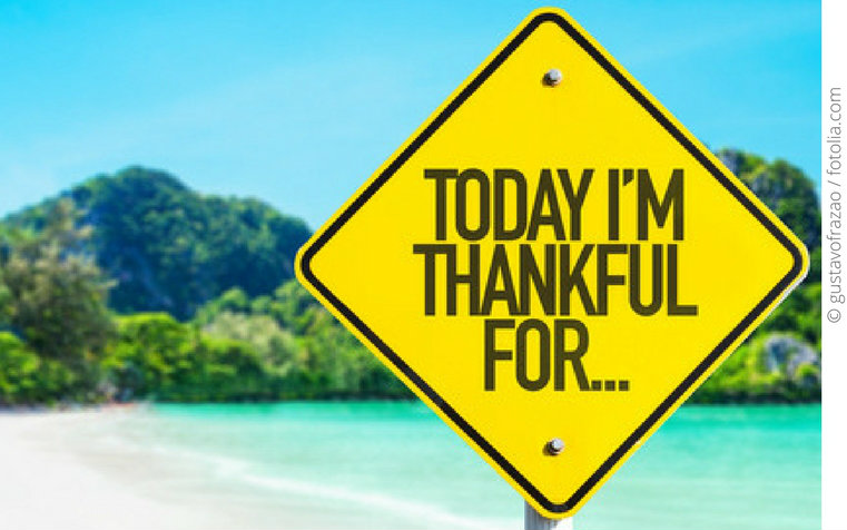 Dankbarkeit… der Geheimtipp für den Weg hin zu einem erfüllten und glücklichen Leben