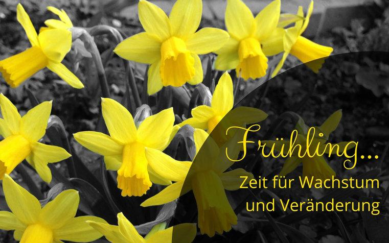 Frühling… Zeit für Wachstum und Veränderung